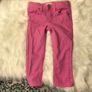 Jumping Beans Sparkly Pink skinny jeans